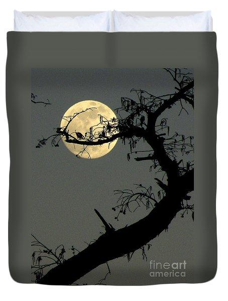 Cypress Moon Duvet Cover by Joe Jake Pratt