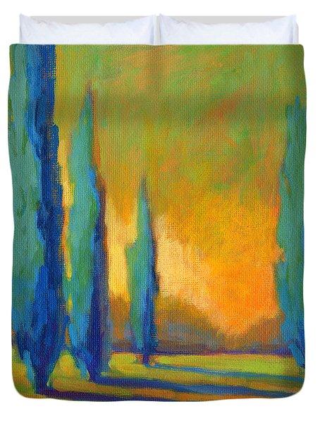 Cypress Road 5 Duvet Cover