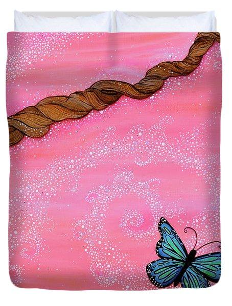 Cypress Wand Duvet Cover by Deborha Kerr