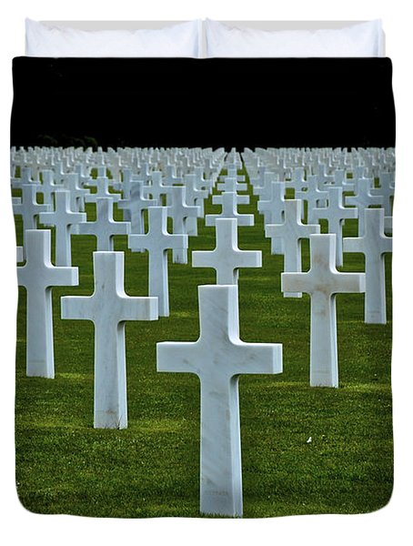 D-day's Price Duvet Cover
