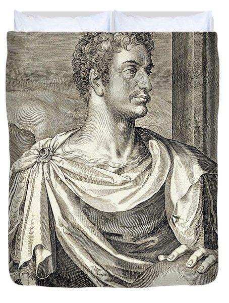 D. Octavius Augustus Emperor Of Rome 27 Duvet Cover
