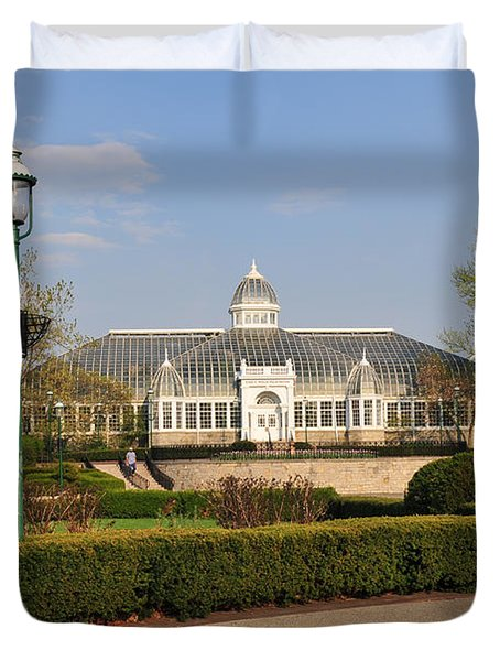 D5l311 Franklin Park Conservatory Duvet Cover