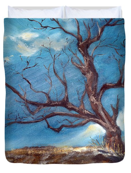 Daddy's Tree Duvet Cover by Meaghan Troup