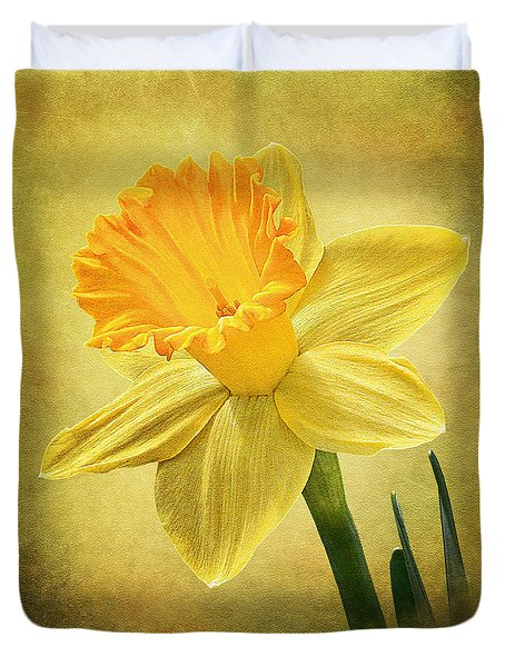 Daffodil Duvet Cover by Ann Lauwers