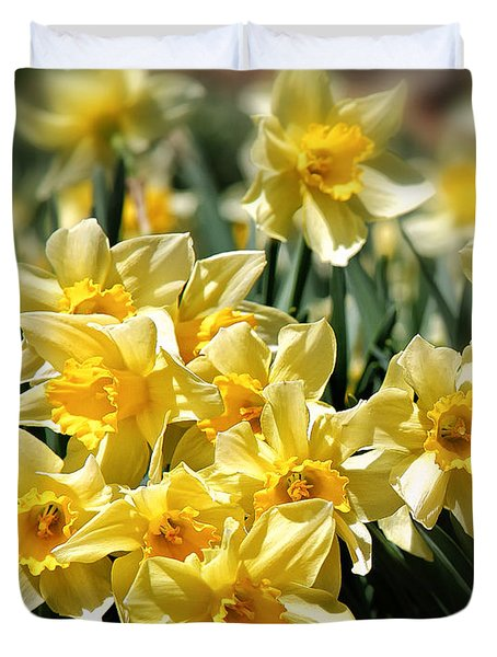 Daffodil Duvet Cover by Bill Wakeley