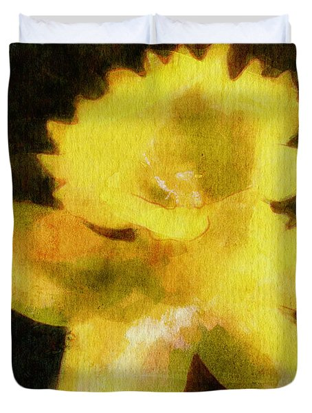 Daffodil Duvet Cover by Greg Collins