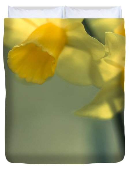 Daffy-down-dilly  Duvet Cover