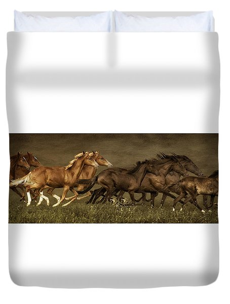 Daily Double Duvet Cover by Priscilla Burgers