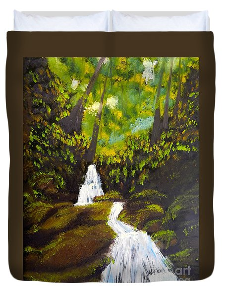 Daintree Natural Park Duvet Cover
