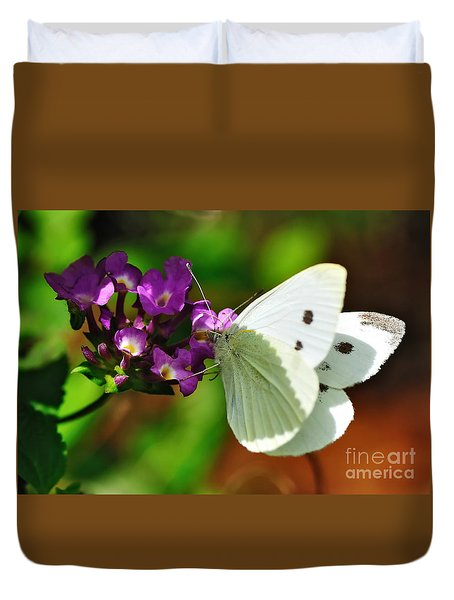 Dainty Butterfly Duvet Cover