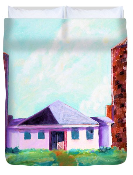 Dairy Barn Duvet Cover by Todd Bandy
