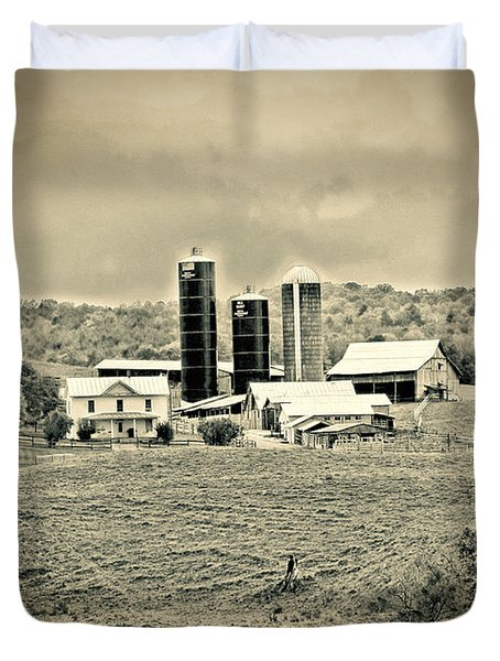 Dairy Farm Duvet Cover