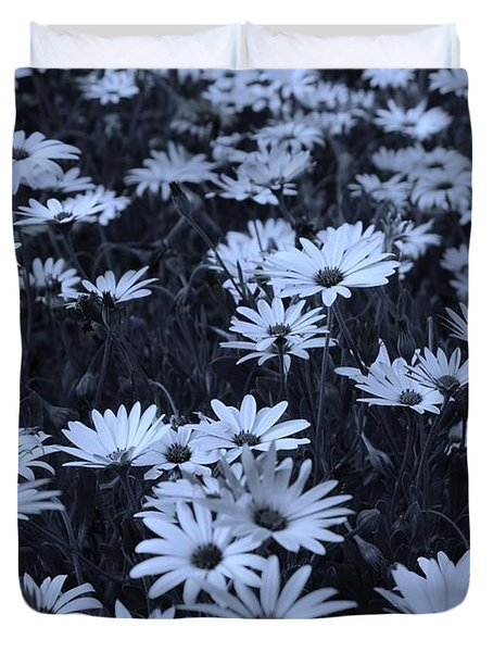 Daisies - Colorized Duvet Cover