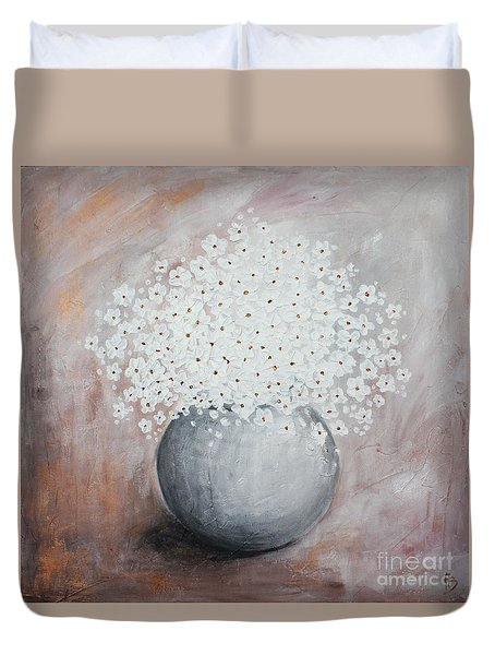 Daisies Duvet Cover by Home Art