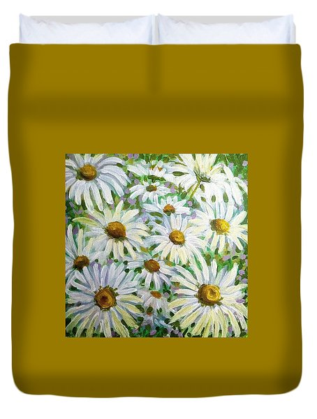 Daisies Duvet Cover by Jeanette Jarmon