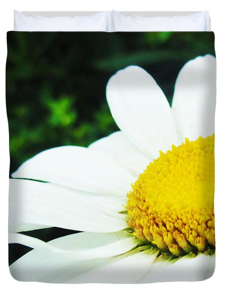 Duvet Cover featuring the photograph Daisy Daisy by Tiffany Erdman