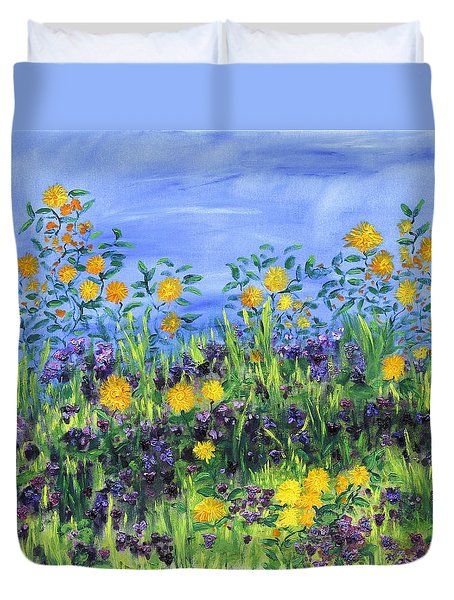 Daisy Days Duvet Cover