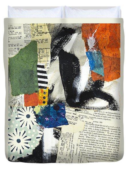 Daisy Duvet Cover by Elena Nosyreva