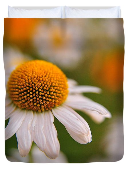 Daisy Power Duvet Cover by Terri Gostola