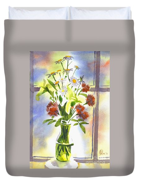 Daisy Supreme Duvet Cover by Kip DeVore