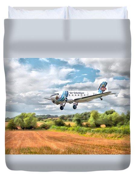 Dakota - Cleared To Land Duvet Cover