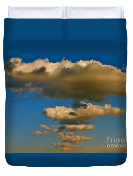 Duvet Cover featuring the photograph Dali-like by Joy Hardee