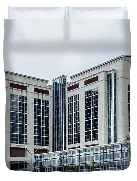 Dallas Children's Medical Center Hospital Duvet Cover
