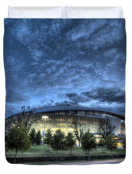 Dallas Cowboys Stadium Duvet Cover
