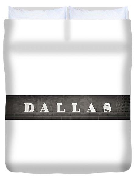Dallas Duvet Cover