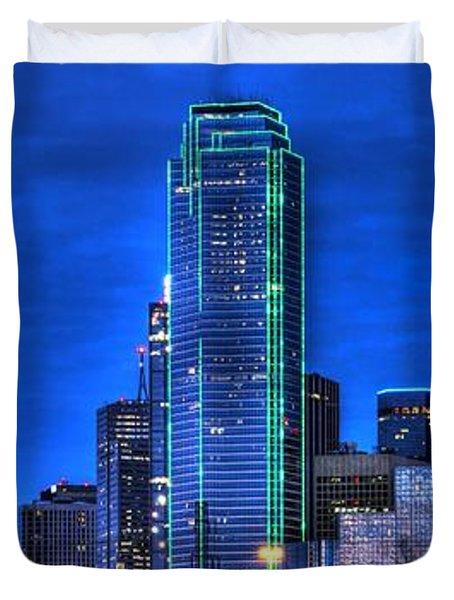 Dallas Skyline Hd Duvet Cover