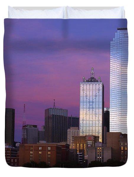 Dallas Sunset Duvet Cover