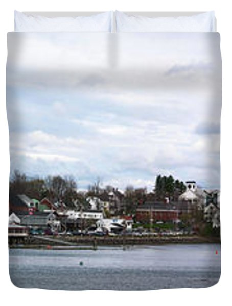 Damariscotta  Duvet Cover by Guy Whiteley