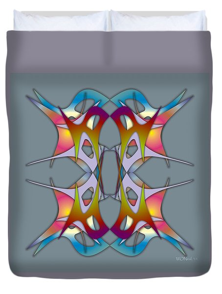 Dance Electric 3 Duvet Cover