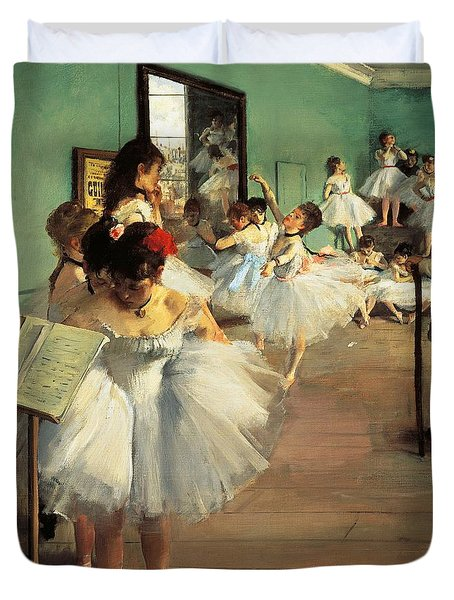 Dance Examination Duvet Cover