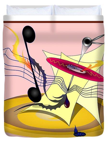 Dance Music Duvet Cover