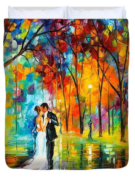 Dance Of Love Duvet Cover