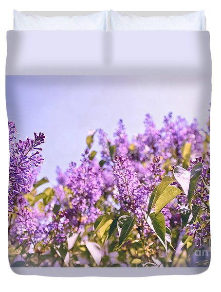 Dance Of The Lilacs Duvet Cover