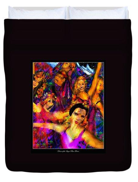 Dance Of The Sugar Plum Fairies Duvet Cover
