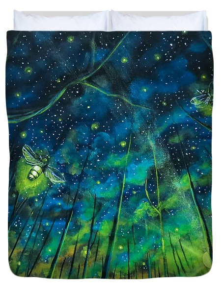 Dance The Night Away Duvet Cover
