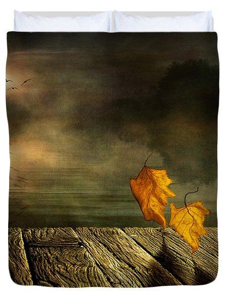 Dance To The Sun Duvet Cover by Veikko Suikkanen