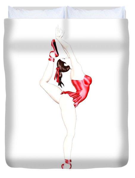 Dancer Duvet Cover by Renate Janssen