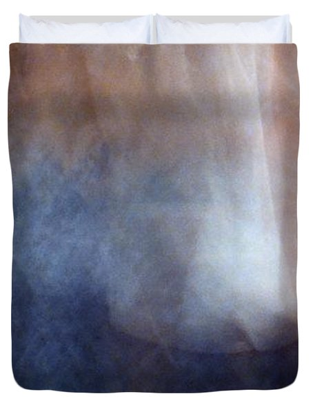 Duvet Cover featuring the photograph Dancing Blues 3  by Lyle Crump