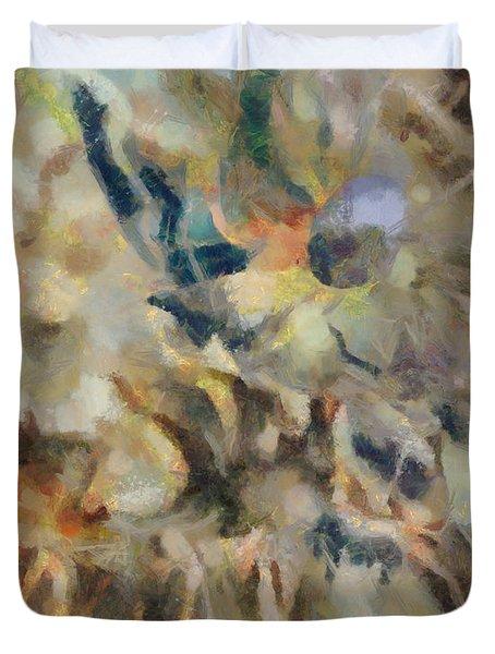 Dancing Dreams Duvet Cover by Joe Misrasi