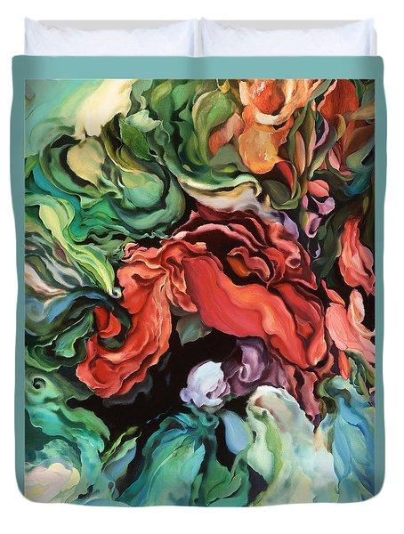 Dancing For Joy - Original Artwork - Paintings Duvet Cover