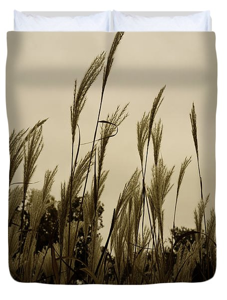 Dancing Grass Duvet Cover