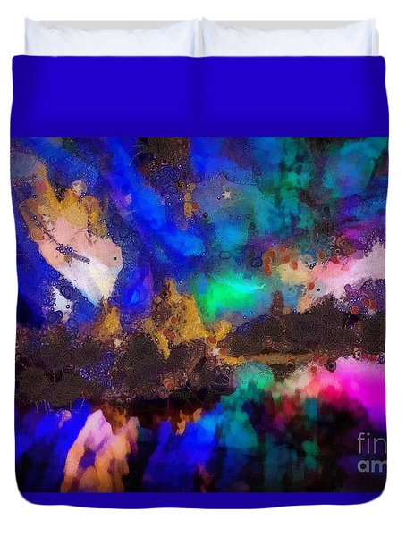 Dancing In The Moon Light Duvet Cover