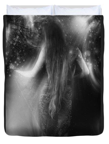 Dancing In The Moonlight... Duvet Cover