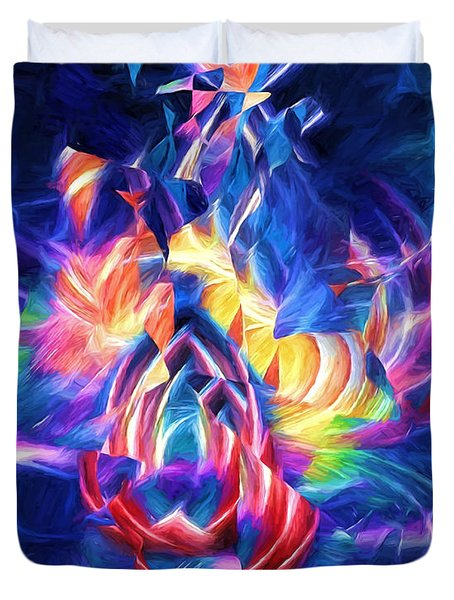 Dancing In The Streets Duvet Cover