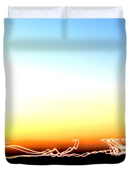 Dancing In The Sunlight Duvet Cover