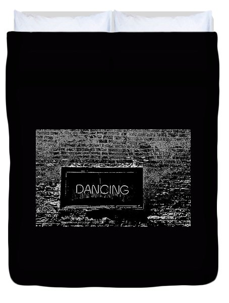 Dancing Duvet Cover